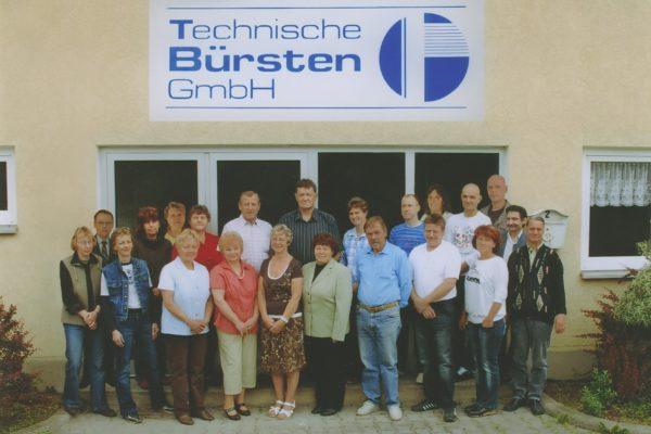 Technische Bürsten 07 2010 3. Teambild